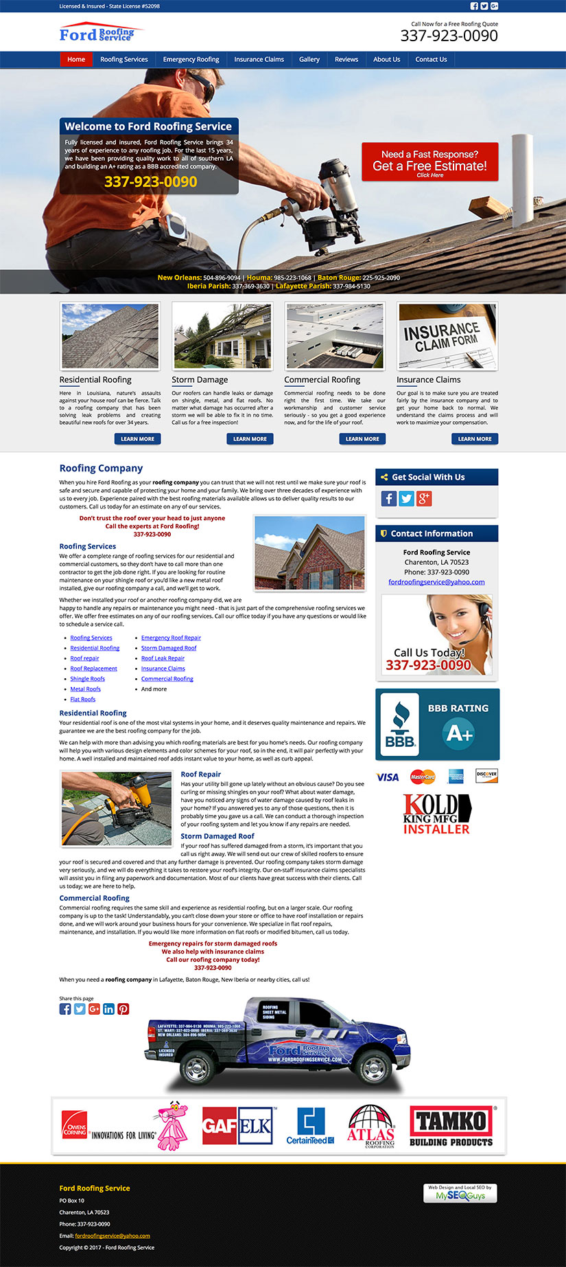 Web Design by Kustom Kode, LLC