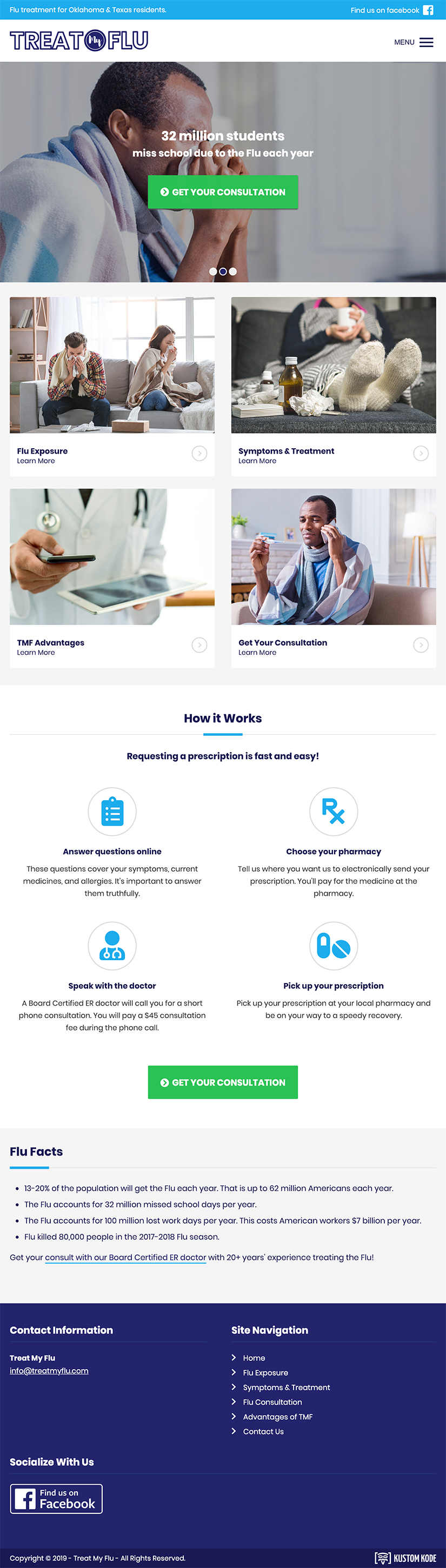 Website for a doctor